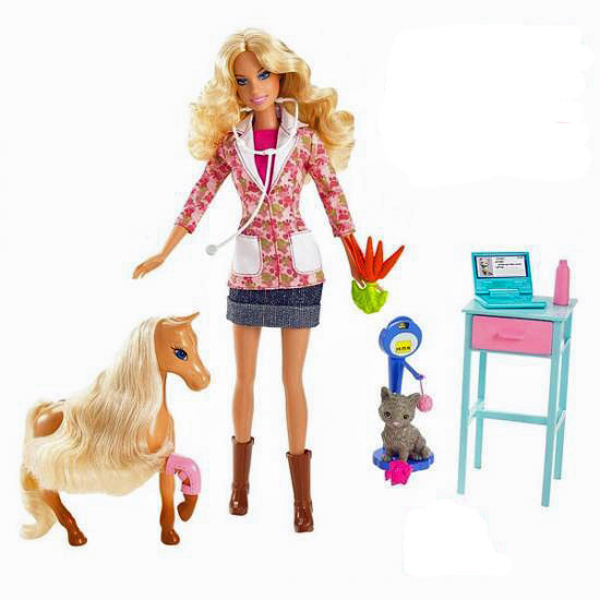 La saga barbie les jouets de charlie guerrier - Barbie veterinaire ...