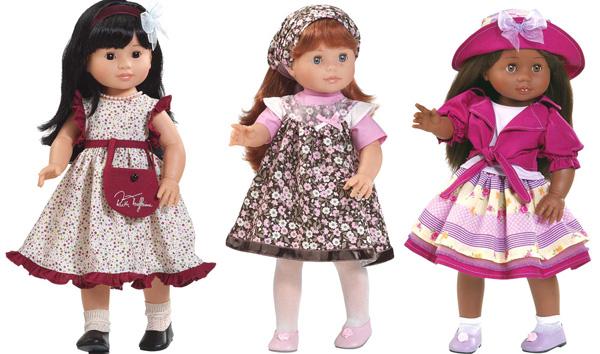 Paola Raina, poupées ethniques