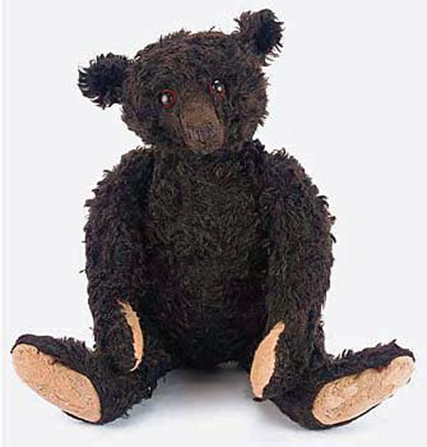 ours noir steiff