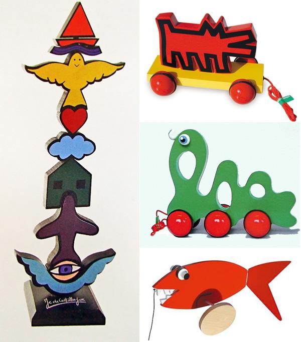 jouets d'artistes