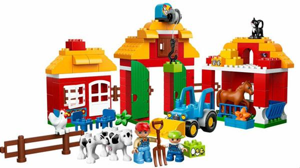6. Duplo-Lego grande ferme