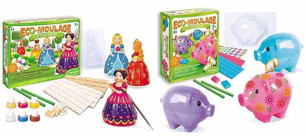 Eco moulage-Popsine, Les princesses et les cochons dodus, 25 €, Sentosphère, www.sentosphere.fr