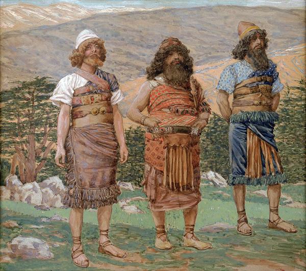 Sem, Cham et Japhet (par James Tissot, 1904)