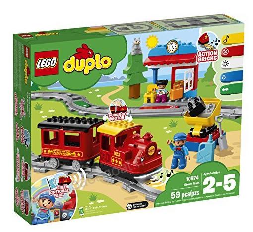 10874 Train à vapeur, Lego Duplo
