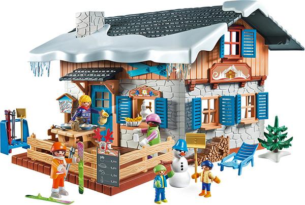 Chalet avec skieurs, Family Fun, Playmobil, https://www.playmobil.fr