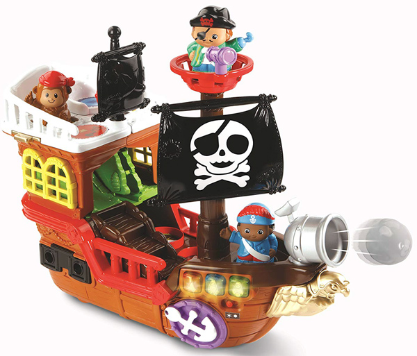 Super bateau pirate 2 en 1, VTech, https://www.amazon.fr