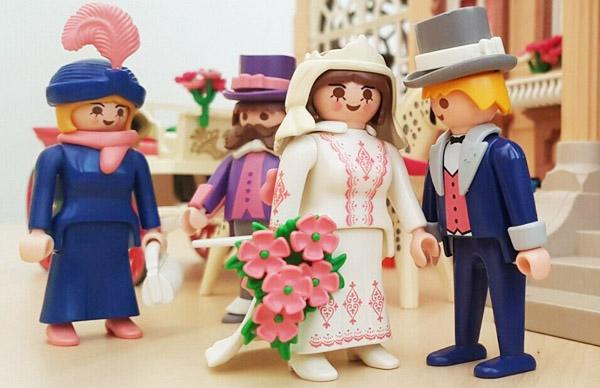 Thème Belle Epoque-mariés